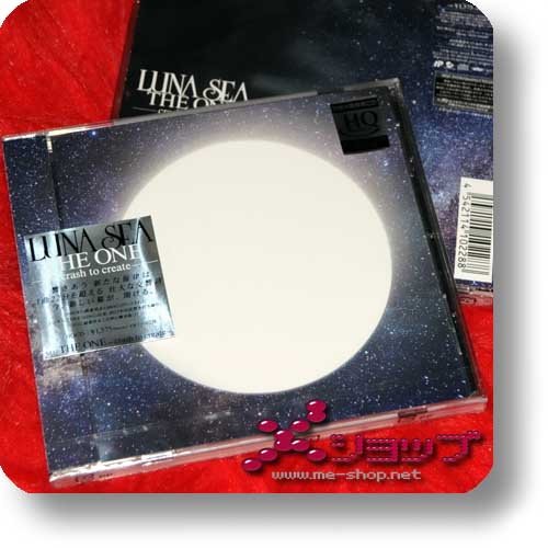 LUNA SEA - THE ONE -crash to create- LIM.HQCD-Edition (Re!cycle)-0