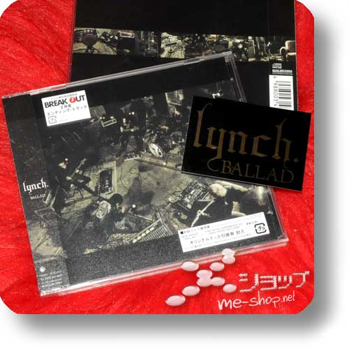 lynch. - BALLAD +Bonus-Sticker!-0