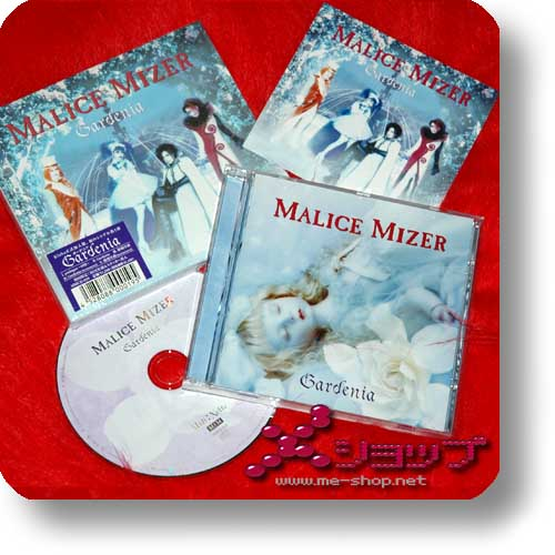 MALICE MIZER - Gardenia LIM.1st PRESS+Sticker (Re!cycle)-0