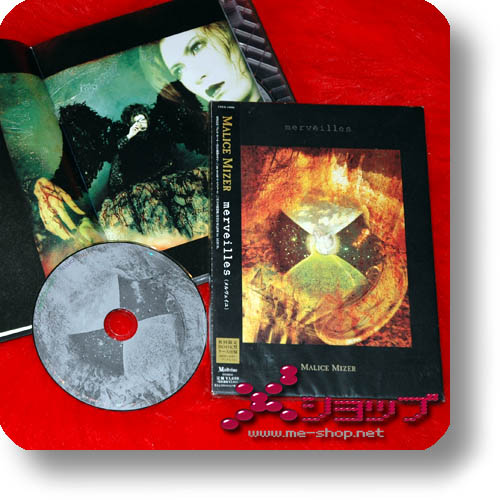 MALICE MIZER - merveilles (lim.1.Press CD+Buch) (Re!cycle)-0