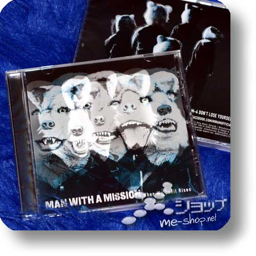 MAN WITH A MISSION - When My Devil Rises (US-Pressung)-0