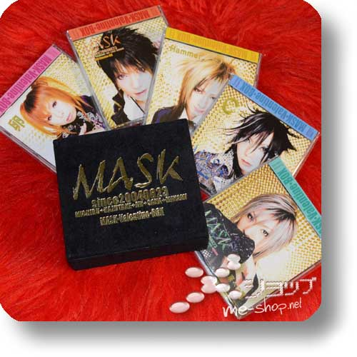 MASK - VALENTINE BOX (lim.Samtbox 4CDs+DVD) (Re!cycle)-0