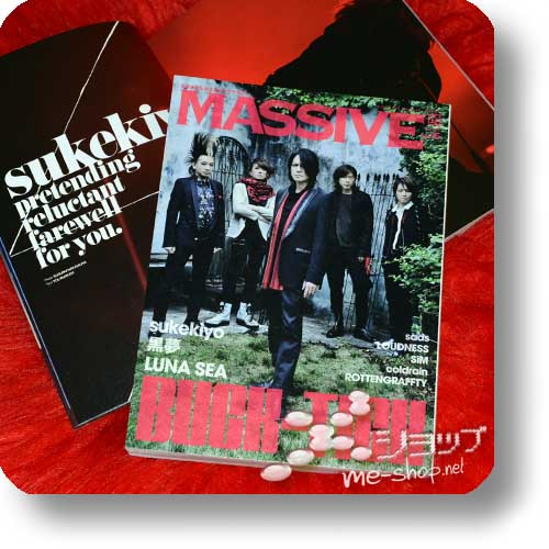MASSIVE Vol.15 (August 2014) BUCK-TICK, sukekiyo, coldrain, sads, LUNA SEA-0