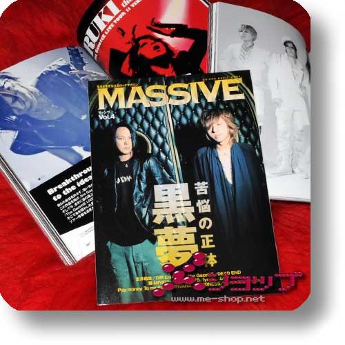 MASSIVE Vol.4 (Dez.11) KUROYUME, Dir en grey, GazettE, MUCC...-0