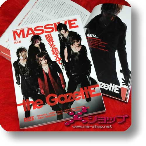 MASSIVE Vol.5 (Apr.11) THE GAZETTE, lynch., LUNA SEA, 12012, Alice Nine...-0