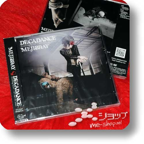 MEJIBRAY - Decadance LIM.CD+DVD B-Type -0