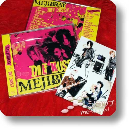 MEJIBRAY - DIE KUSSE LIM.CD+DVD B+handsignierte Fotokarte!-0