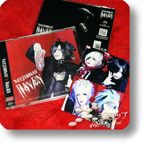 MEJIBRAY - Raven LIM.CD+DVD A-Type +Bonus-Fotokarte!-0