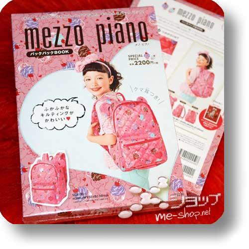 mezzo piano 2014 Backpack Book (inkl.original mezzo piano-Cupcake-Rucksack!)-0