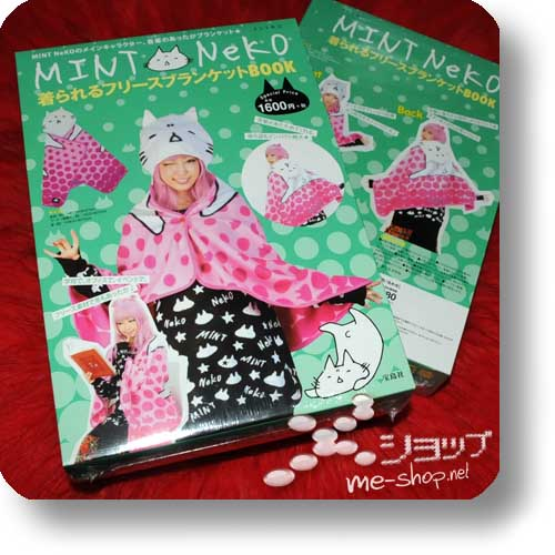 MINT NEKO Fleece Blanket Book (inkl.original MINT Neko-Vliesumhang! ^^)-0