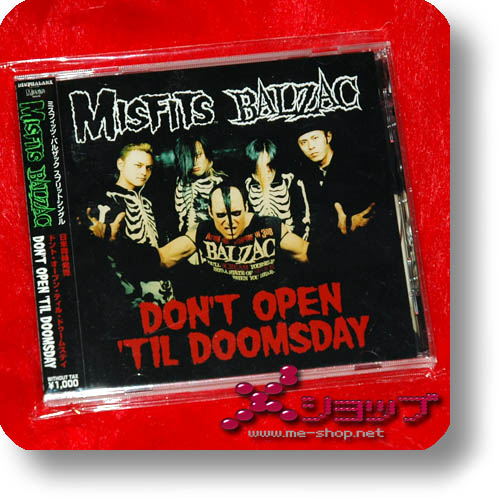 MISFITS / BALZAC - Don't Open Till Doomsday-0