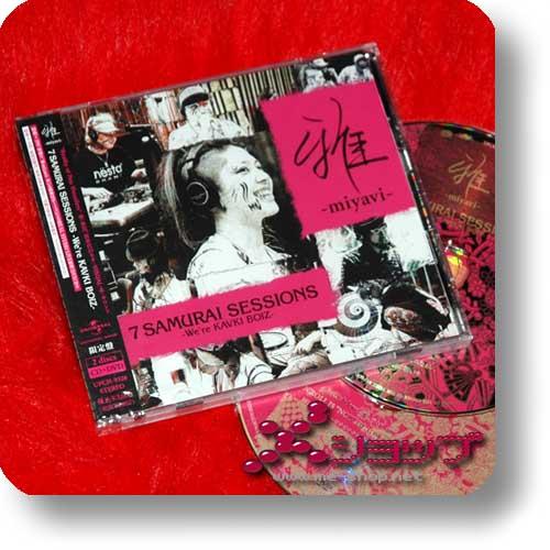MIYAVI - 7 Samurai sessions -We're KAVKI BOIZ- LIM.CD+DVD-0
