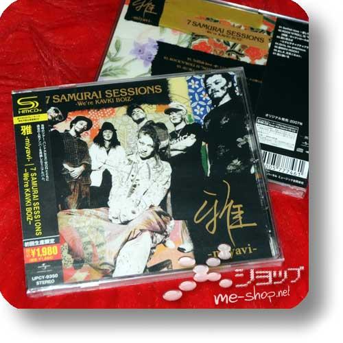 MIYAVI - 7 Samurai sessions -We're KAVKI BOIZ- (lim. Rerelease 2013 / Special Price!)-0