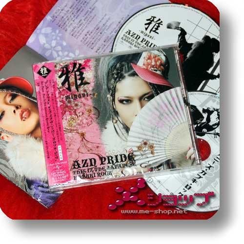 MIYAVI - AZN PRIDE - This Iz The Japanese Kabuki Rock LIM.CD+DVD-0
