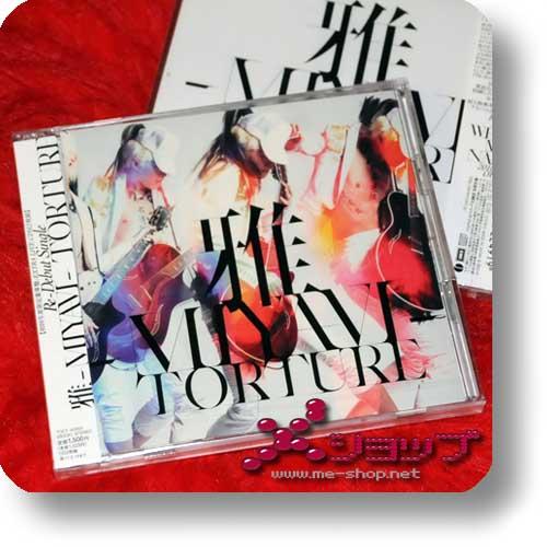 MIYAVI - Torture (lim.CD+Live-CD+Klebetattoo!) (Re!cycle)-0
