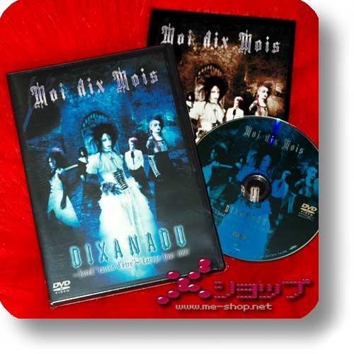 """MOI DIX MOIS - DIXANADU ~Fated """"raison d'etre""""~ Europe Tour 2007 (Re!cycle)-0"""