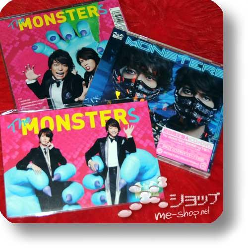 THE MONSTERS - Monsters LIM.CD+DVD A-Type+Bonus-Postkarte (Tomohisa Yamashita)-0