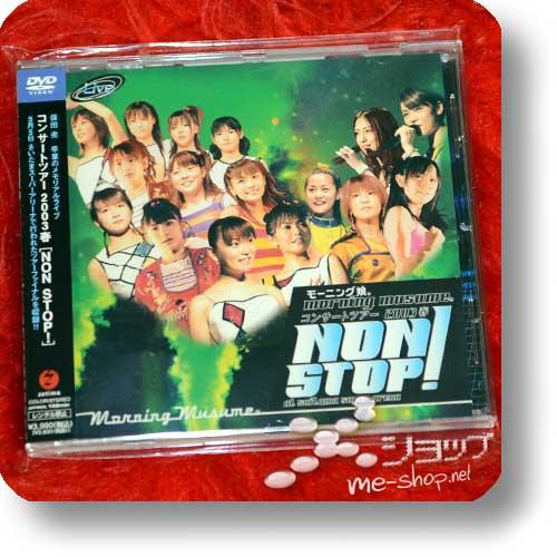 MORNING MUSUME. - Concert Tour 2003 Haru NON STOP! (DVD) (Re!cycle)-0