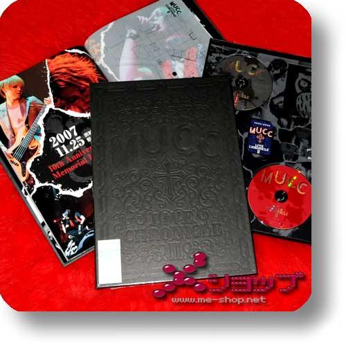 MUCC - Live Chronicle 2 (lim.Boxset 2DVD+Bonus) (Re!cycle)-0