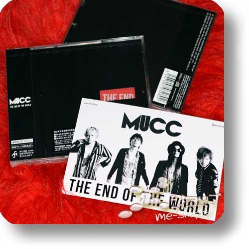 MUCC - THE END OF THE WORLD +Bonus-Fotopostkarte!-0