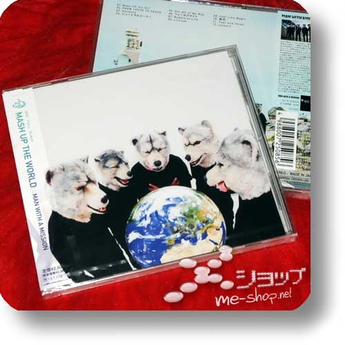 MAN WITH A MISSION - MASH UP THE WORLD-0