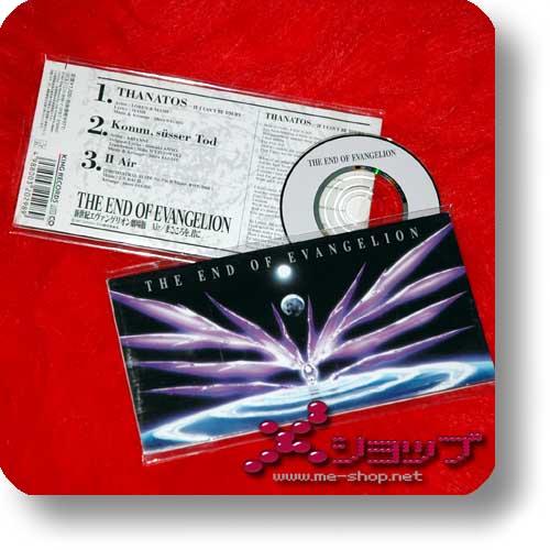 """NEON GENESIS EVANGELION - The End Of Evangelion (3""""/8cm Single-CD Orig.1997) (Re!cycle)-0"""