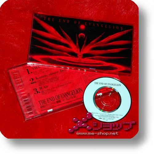 """NEON GENESIS EVANGELION - The End of Evangelion (LIM.1.PRESS 3""""/8cm Single CD Orig.1997!) (Re!cycle)-0"""