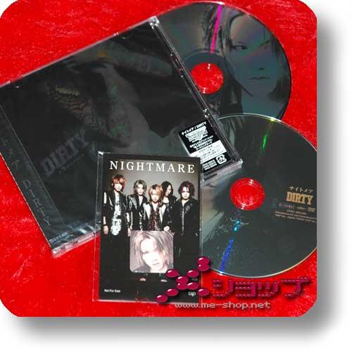 NIGHTMARE - Dirty (lim.CD+DVD A-Type +BONUS-STICKERSET) (Re!cycle)-0