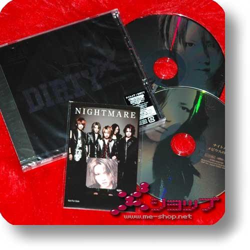 NIGHTMARE - Dirty (lim.CD+DVD B-Type +BONUS-STICKERSET) (Re!cycle)-0
