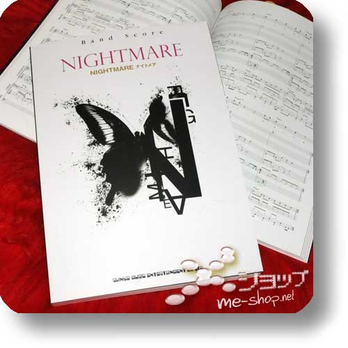 NIGHTMARE - NIGHTMARE Official Band Score (NOTENBUCH)-0