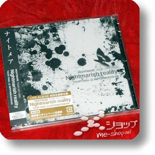 NIGHTMARE - Tour 2011-2012 Nightmarish reality (lim.CD)-0