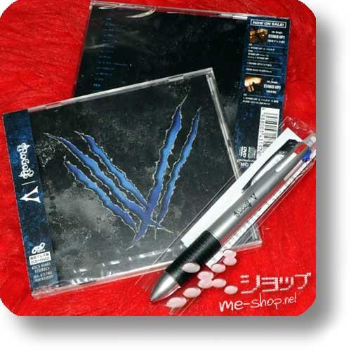 NoGoD - V (lim.CD+DVD) +Bonus-4-Fach-Kugelschreiber!-0