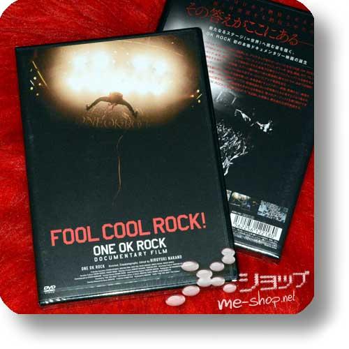ONE OK ROCK - FOOL COOL ROCK! Documentary Film (DVD)-0
