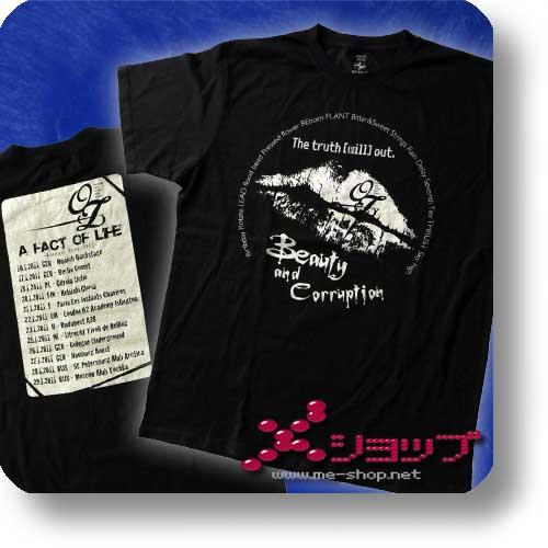 -OZ- - Original T-Shirt EURO-TOUR 2011 RUS / Größe S-0