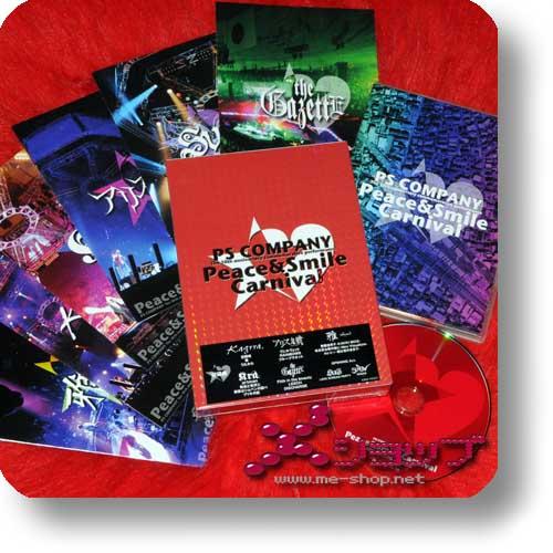 PEACE & SMILE CARNIVAL TOUR 2009 (lim.Box DVD+Photobooklets) the GazettE, miyavi, SCREW... (Re!cycle)-0