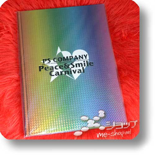 PEACE & SMILE CARNIVAL 2009.01.03 NIPPONBUDOKAN - Original Pamphlet (the GazettE, miyavi, Alice Nine, SuG, SCREW...)-0