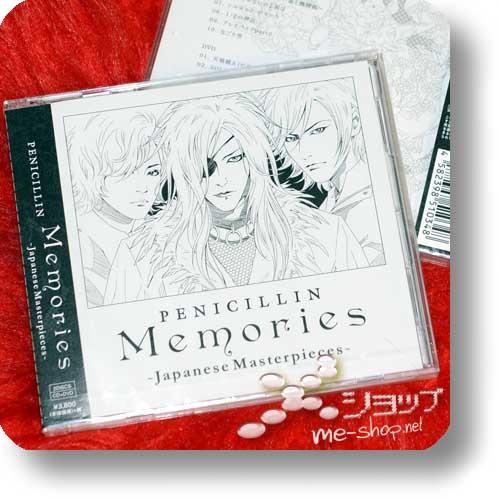 PENICILLIN - Memories ~Japanese Masterpieces~ LIM.CD+DVD-0