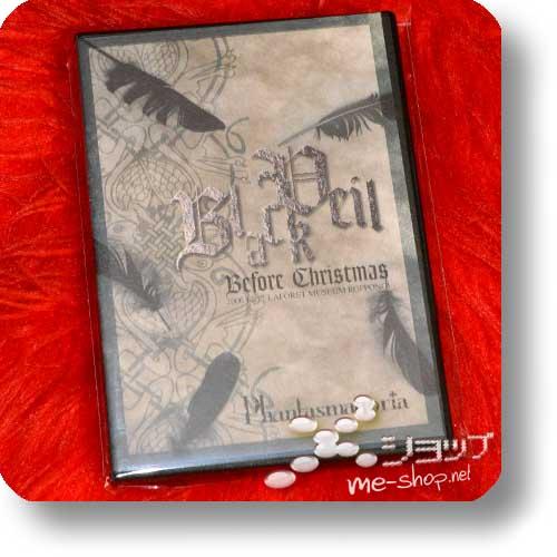 PHANTASMAGORIA - Black-Veil Before Christmas (Live-DVD) (Re!cycle)-0