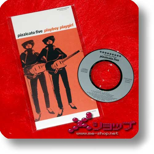 PIZZICATO FIVE - playboy playgirl (SINGLE-CD) (Re!cycle)-0