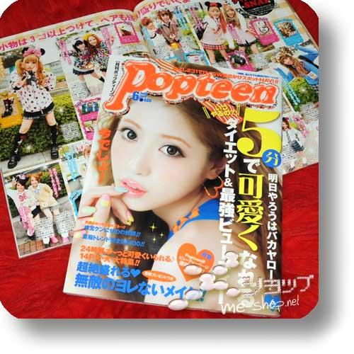 POPTEEN Vol.392 (Jun.13) Fashion- und Lifestyle-Magazin-0