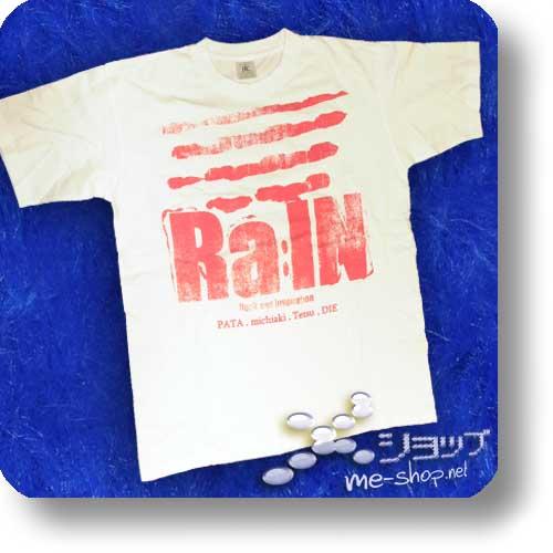 "Ra:IN (rain) - Original T-Shirt ""Logo"" Größe L (Pata -X Japan-)-0"