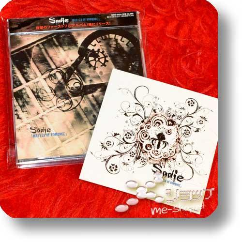 SADIE - MASTER OF ROMANCE +Bonus-Sticker! (Re!cycle)-0