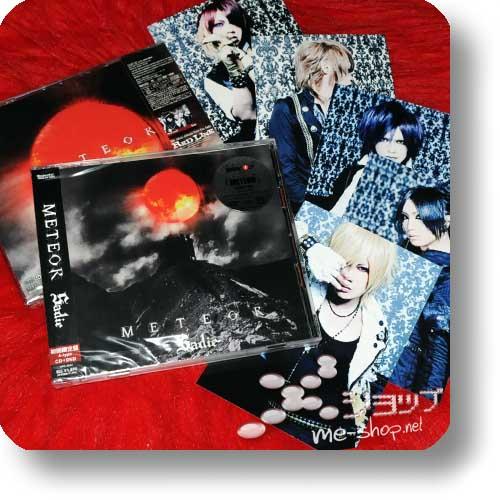 SADIE - METEOR (LIM.CD+DVD A-Type) +Bonus-Fotoset!-0