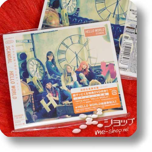 SCANDAL - HELLO WORLD lim.CD+DVD-0