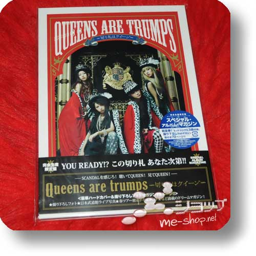 SCANDAL - Queens are trumps SPECIAL ED.BOX +PHOTOBOOK-0