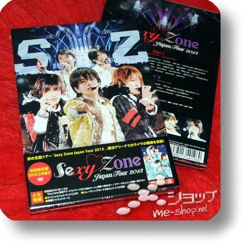 SEXY ZONE - Japan Tour 2013 LIM.BOX 2DVD+PHOTOBOOK-0