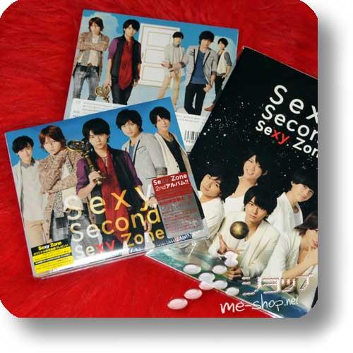 SEXY ZONE - Sexy Second (LIM.CD+DVD A-Type) +Bonus-Notebook!-0