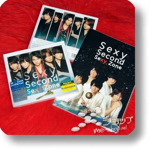 SEXY ZONE - Sexy Second (LIM.CD+DVD B-Type) +Bonus-Notebook!-0