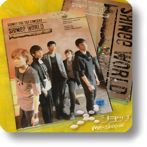 SHINee - The 1st Concert in Seoul 2DVD+Book ORIG.KOREAPRESSUNG-0