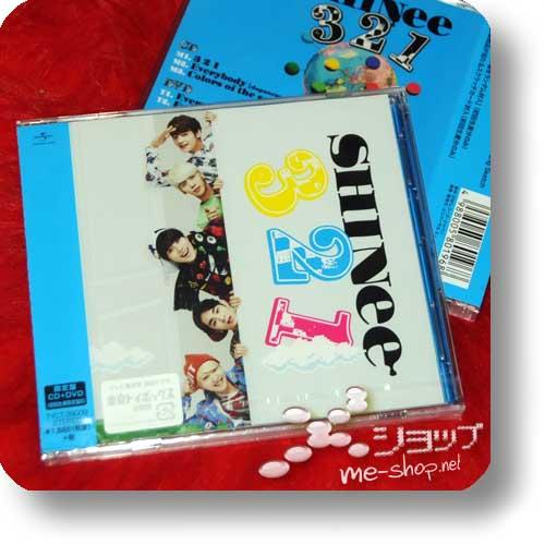 SHINee - 3 2 1 lim.CD+DVD B-Type-0